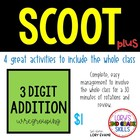 Scoot - Swing Scoot & more...  3 Digit Subtraction w/Repgrouping