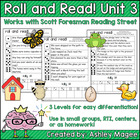 Scott Foresman Reading Street Roll & Read Fluency Practice Unit 3