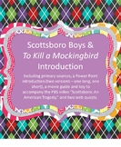 Scottsboro Boys Unit/Intro to To Kill a Mockingbird