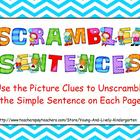 Scrambled Sentences for Promethean Board