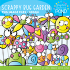 Scrappy Bug Garden - Clipart / Graphics From the Pond