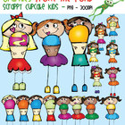 Scrappy Cupcake Kids - Graphics From the Pond
