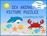 Sea Animals Math Puzzles