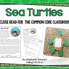 Sea Turtles {For The Common Core Classroom}