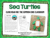 Sea Turtles {Common Core Classroom}