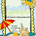 Seaside Synonyms- A Classroom or Hallway Synonym Hunt