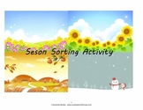Season Sorting Activity