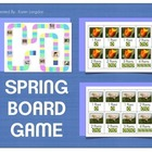 Seasonal Board Game for Spring!