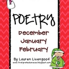 Seasonal Poetry- December, January, February!
