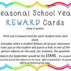 Seasonal Reward Cards