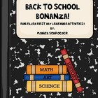 Second Grade: Back to School Bonanza!
