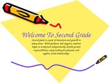 Second Grade Back to School Powerpoint