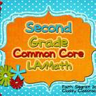 Second Grade Common Core Essential Question Posters~Green~