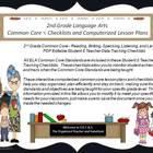 2nd Grade Common Core Language Arts Checklists and Drop Do
