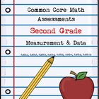 Second Grade Math Assessments ~ Common Core ~ Measurement & Data