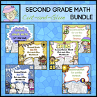 Second Grade Math Common Core Cut-and-Glue Workbook COMBO Pack
