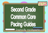 Second Grade Quarterly Pacing Guides- Editable