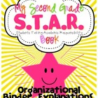 Second Grade S.T.A.R. Book Organizational Binder