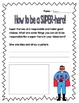 Second Grade SUPER-heroes! Character-building activities f