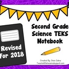Second Grade Science TEKS Notebook