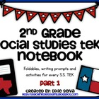 Second Grade Social Studies Notebook part 1