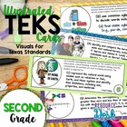 2nd Grade TEKS - Illustrated and Organized!