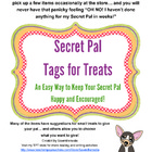 Secret Pal - Tags and Notes  (Pick and Choose to Make Your