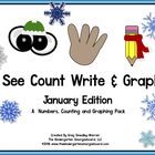 See, Count, Tally And Graph: January Edition!  A Common Co