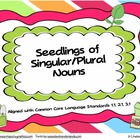 Seedlings of Singular/Plural Nouns