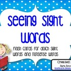 Seeing Sight Words {and Nonsense Words}