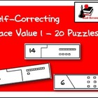 Self Correcting Puzzle - Base 10 Blocks 1-20
