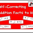 Self Correcting Puzzle - Basic Addition 1-10