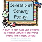 Sensational Sensory Poetry Pack!