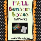 Sensory Boxes for Phonics - Fall