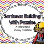 Sentence Building with Puzzles-A Differentiated Literacy W