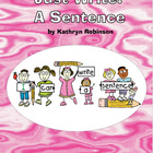 Sentence Recognition Activities for Kindergarten, 1st and