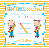 Sentence Starters {from A to Z}