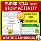 Sentence Structure lesson plan: Silly Short Story Common C