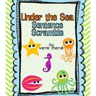 Sentence Type Scramble with Sea Creatures