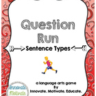 Sentence Types: Question Run Game