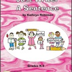 Sentence Writing Activities - K, First, Second, Third Grad