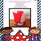 A Patriotic Craftivity-Writing Packet {Veteran's Day}
