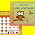 September 2014Kindergarten Calendar for ActivBoard