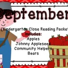 September Close Reading Packet