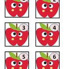 September  Cute Apple Calendar Cards