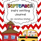 September Daily Writing Journal
