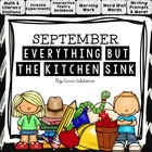 September: Everything But the Kitchen Sink {A Back to Scho