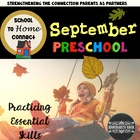 September Homework Packet: Preschool (Apple Picking Time)
