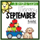 September Morning Bright {Kindergarten Literacy Morning Work}