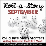 {September} Roll-a-Story Writing Activity
